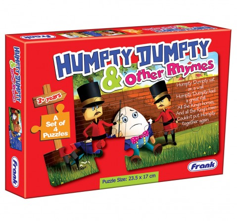 Frank Humpty Dumpty And Other Rhymes Puzzle Puzzles for Kids Age 3Y+