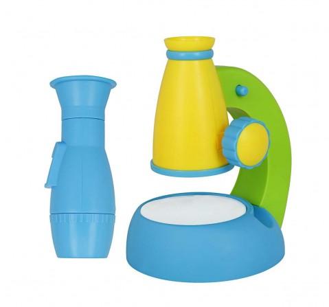 Comdaq Kids Blue Microscope Science Equipments for Kids age 3Y+