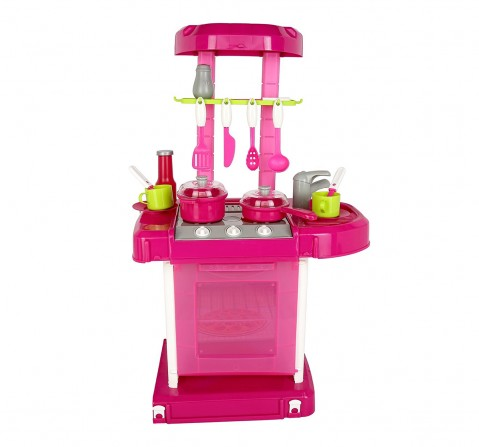 Comdaq Kitchen Playset with Music and Light for Girls age 3Y+