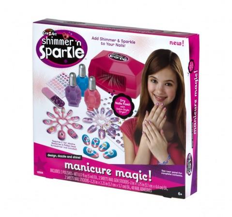 Cra-Z-Art Manicure Magic, Multi Color DIY Art & Craft Kits for Kids age 3Y+