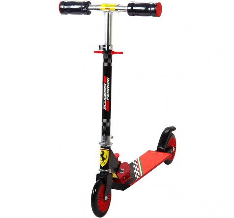 Ferrari 2 Wheel Scooter Black Scooters for Kids age 3Y+ (Black)