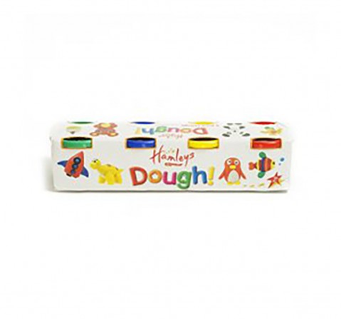 Hamleys Dough Set- Pack Of 4 Clay & Dough for Kids age 3Y+