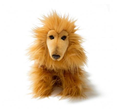 Hamleys Afghan Hound Soft Toy Animals & Birds for Kids Age 3Y+ - 19 Cm (Brown)