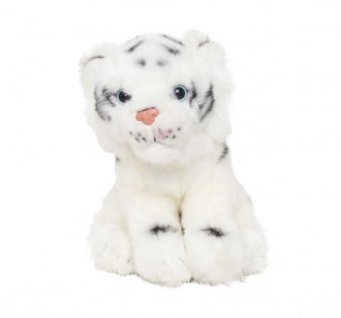 Hamleys Baby Talya White Tiger Soft Toy Animals & Birds for Kids age 3Y+ 18 Cm