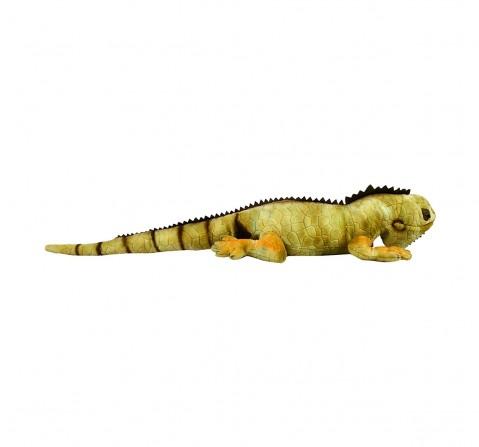 Hamleys Iguana Iggy Animal Plush Soft Toy Animals & Birds for Kids age 12M+ - 17 Cm (Green)