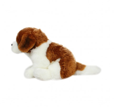 Hamleys Saint Bernard Dog Animal Plush Soft Toy For Kids, age 12M+ - 19 Cm (Beige)