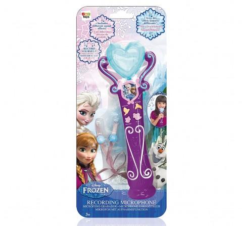 Frozen Recording Microphone, Girls, 3Y+ (Blue)
