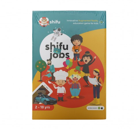 Playshifu Jobs Augmented Reality Learning Games - IOS & Android (60 Profession Cards) Science Kits for Kids age 24M+