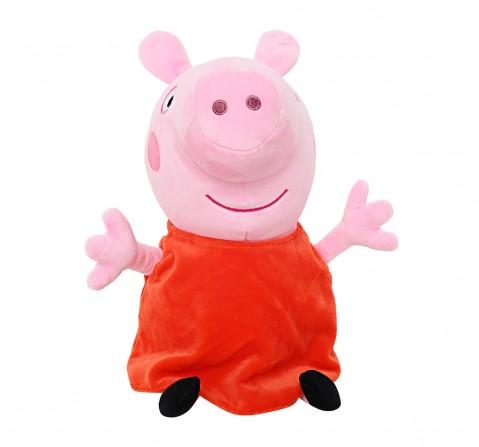 Peppa Pig 30 Cm Soft Toy for Kids age 2Y+ (Orange)