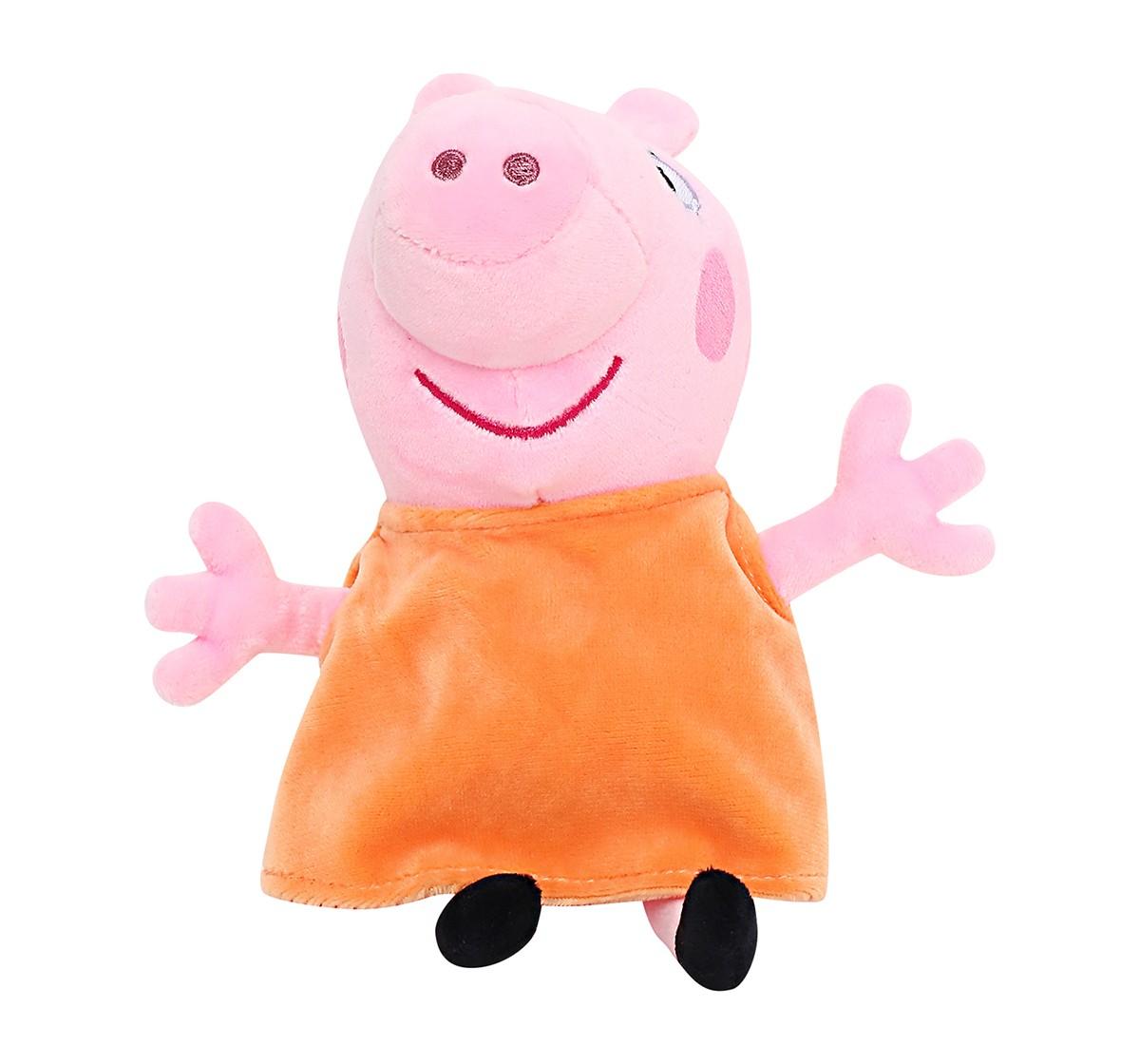 Peppa Pig Mummy 19 Cm Soft Toy for Kids age 3Y+ (Pink)