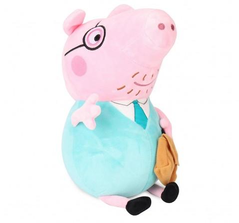 Peppa Pig Daddy 30 Cm Soft Toy for Kids age 3Y+ (Green)