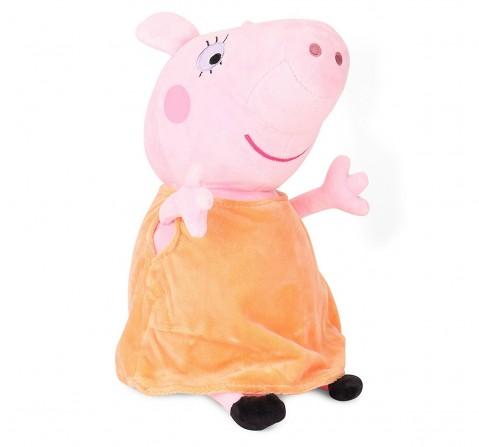 Peppa Pig Mummy 30 Cm Soft Toy for Kids age 3Y+ (Orange)