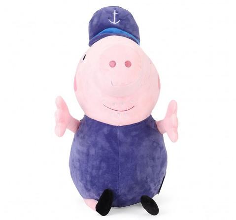 Peppa Pig Grandpa 30 Cm Soft Toy for Kids age 3Y+ (Purple)