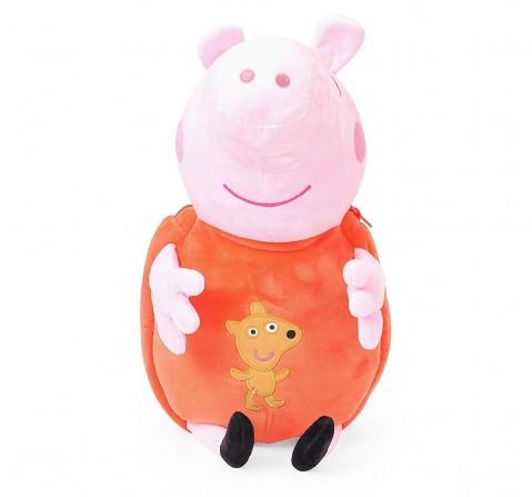 Peppa Pig Soft Toy Bag Multi Color 44 Cm for Kids age 2Y+
