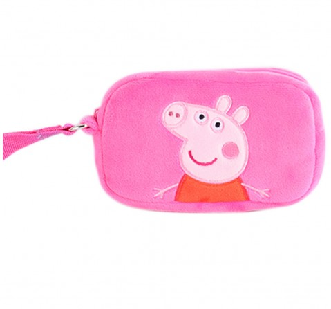 Peppa Pig Pink Plush Toy Wallet, 0M+ (Multicolor)