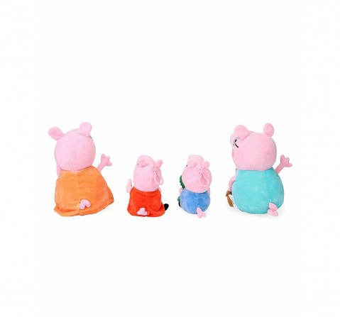 Peppa Pig Family Soft Toy Gift Box Combo Multi Color for Kids age 12M+ - 22 Cm