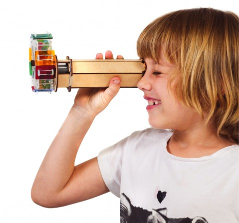 Smartivity Fantastic Optics Kaleidoscope:  Stem, Learning, Educational and Construction Activity Toy Gift for Kids age 6Y+ (Multi-Color)