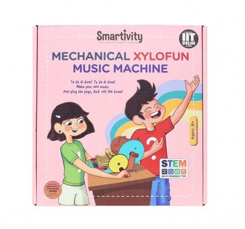 Smartivity Mechanical Xylofun Music Fun: Stem, Learning, Educational and Construction Activity Toy Gift for Kids age 8Y+  (Multi-Color)