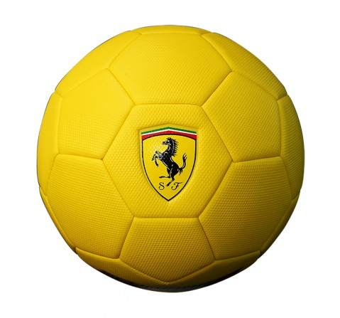 Ferrari Soccer Ball - Sports & Accessories for Kids age 5Y+ (Yellow)