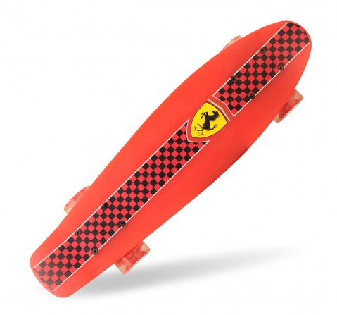 Ferrari Penny Board Skateboard red for Kids Age 5Y+ (Red)