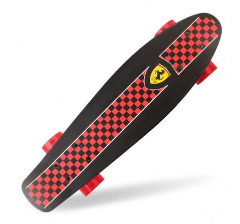 Ferrari Penny Board Skateboard Black for Kids Age 5Y+ (Black)