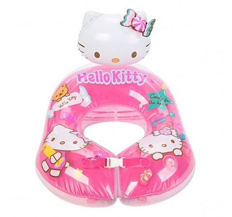 Disney Mesuca Pink Hello Kitty Swim Ring, Blue, 2Y+