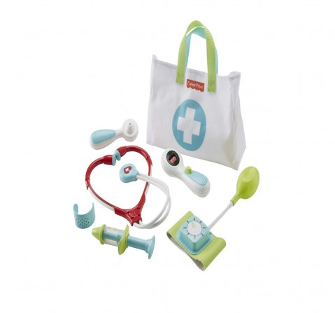 Fisher Price Medical Kit, Multi Color Early Learner Toys for Kids age 3Y+