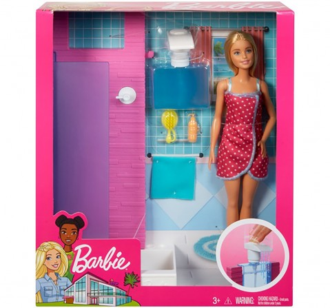 Barbie Shower Dolls & Accessories for Girls age 3Y+