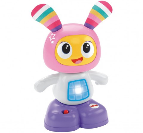 Fisher Price Beatbelle Mini Figure, Multi Color Early Learner Toys for Kids age 6M+