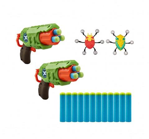 Zuru X-Shot - Bug Attack-Predator Combo Pack Blasters for Kids age 8Y+
