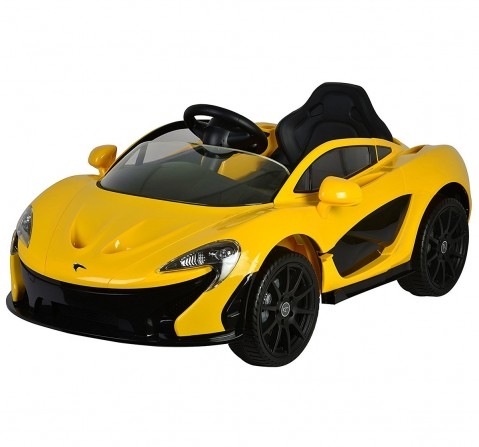 Chilokbo McLaren P1 Battery Operated Ride-on Car Yellow Battery Operated Rideons for Kids age 18M + (Yellow)