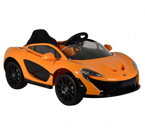 Chilokbo McLaren P1 Battery Operated Ride-on Car Orange Battery Operated Rideons for Kids age 18M + (Orange)