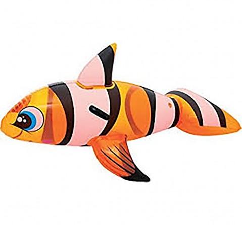 Bestway Fish Ride On - Orange Outdoor Leisure for Kids age 3Y+ (Orange)