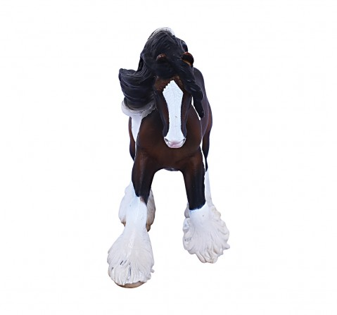 Collecta Tinker Stallion Piebald Animal Figure for Kids age 3Y+ (White)