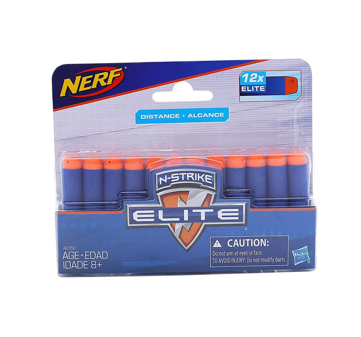 Nerf N-Strike Elite 12 Dart Refill Target Games and Darts for Kids age 8Y+ (Blue)
