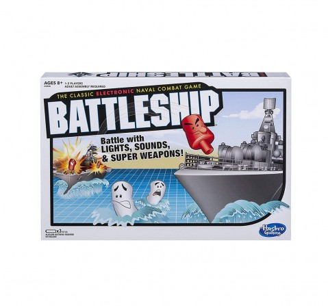 Hasbro Gaming Battleship Electronic Board Game Board Games for Kids age 6Y+
