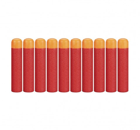 Nerf Darts 10-Pack Refill For Nerf Mega Blasters -  8Y+ (Red)