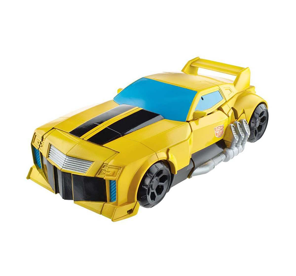 Transformers Cyber Commander Series Bumblebee, Yellow Action Figures for Kids age 4Y+ (Yellow)