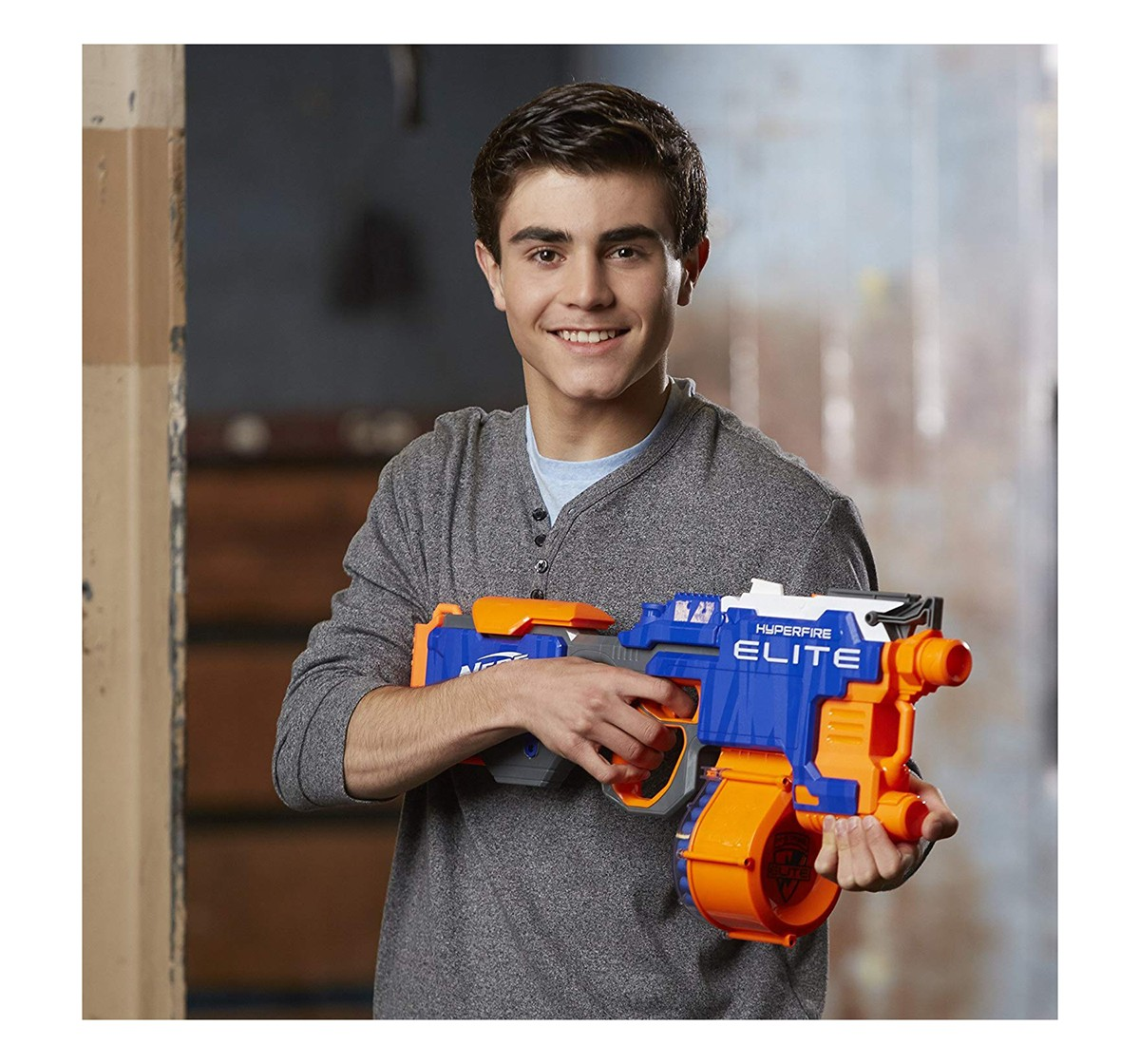 Nerf N Strike Elite Hyper Fire Blaster Blasters for Kids age 8Y+