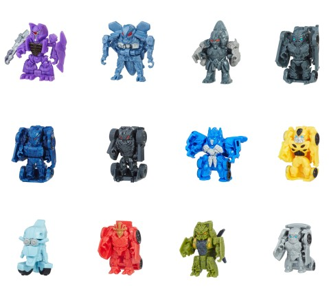 Transformers The Last Knight Tiny Turbo Changers Series 1 Blind Bag, Boys, 7Y+ (Multicolor)