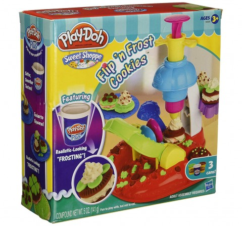 Play-Doh  Sweet Shoppe FLIP 'N FROST COOKIES Set Clay & Dough for Kids age 3Y+