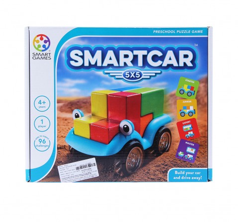 Smart Games Smart Car (5X5)  for Kids age 3Y+