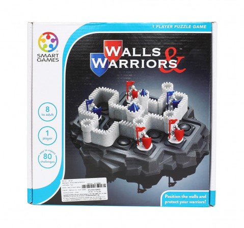 Smart Games Walls And Warriors for Kids age 8Y+
