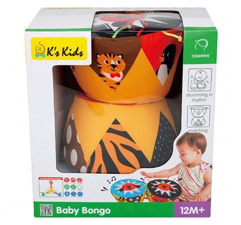 Ks Kids Baby Bongo Musical Toys for Kids Age 12M+