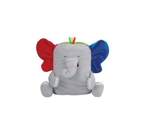 K'S Kids Take Along Elephant Playmat Book-Grey New Born for Kids age 0M+ (Grey)