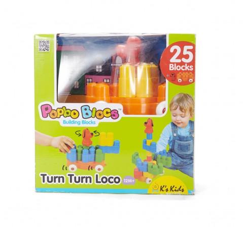 K'S Kids Turn Turn Loco - Multicolour New Born for Kids age 12M+