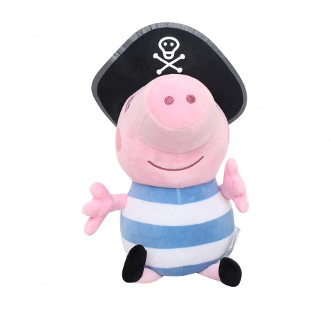 Peppa Pig In Pirate Costume Multi Color 30 Cm Soft Toy for Kids age 3Y+ - 30 Cm
