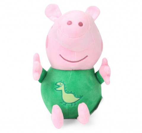 Peppa Pig George in Green Pyjamas Multi Color 30 Cm Soft Toy for Kids age 3Y+ - 13 Cm