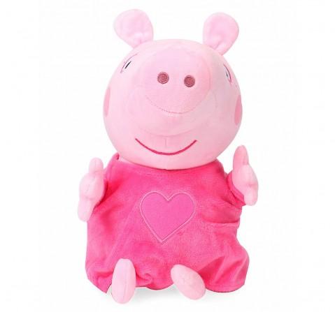 Peppa Pig Plush In Pink Pajama 30 Cm, 0M+ (Multicolor)