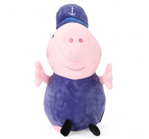Grandpa Pig Plush 46 Cm, 0M+ (Multicolor)